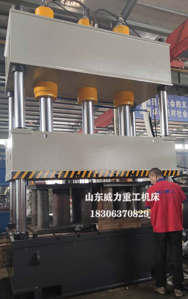 315吨四柱汽车内饰件液压机