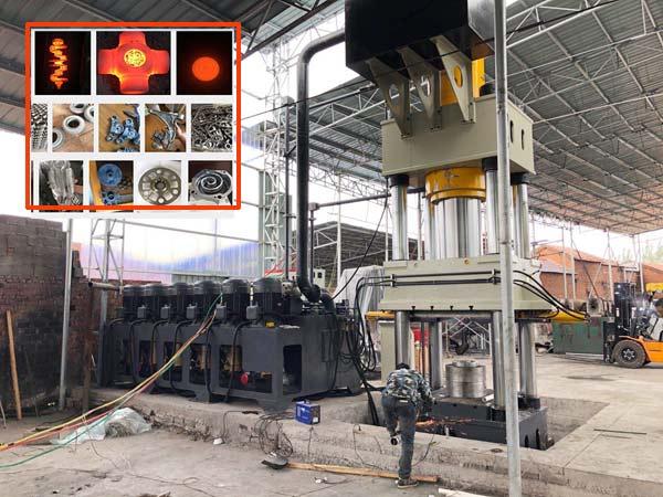 1000吨多工位热锻液压机