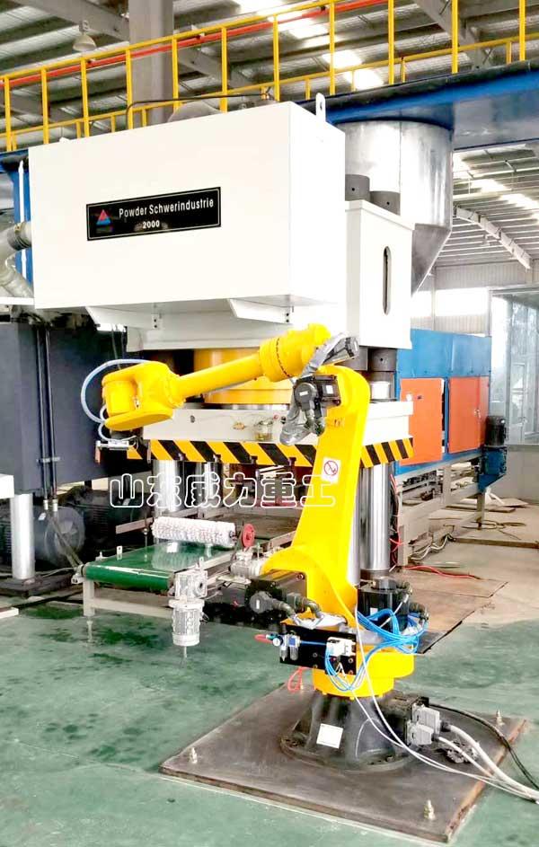 2000吨全自动耐火材料成型压力机