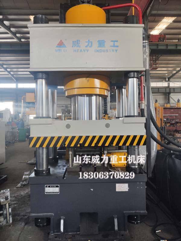 500吨W钢带成型压力机